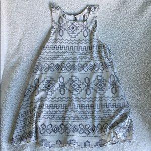Swing boho dress